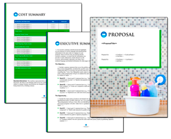 Business Proposal Software and Templates Janitorial #4
