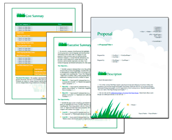 Proposal Pack Lawn #1 - Downloadable Proposal Software, Templates ...
