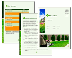 Business Proposal Software and Templates Lawn #3