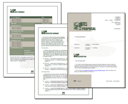 Business Proposal Software and Templates Military #1