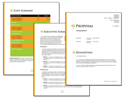 Business Proposal Software and Templates Minimalist #2