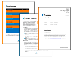 Business Proposal Software and Templates Minimalist #6
