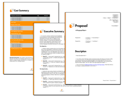 Business Proposal Software and Templates Minimalist #7
