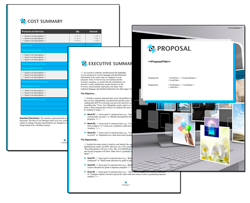 Business Proposal Software and Templates Multimedia #5