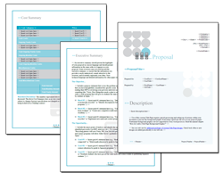 Business Proposal Software and Templates Networks #2