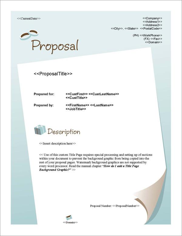 proposal pack wedding  1