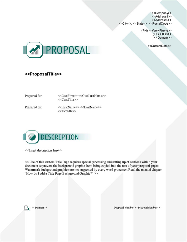 Proposal Pack Business #15 Title Page