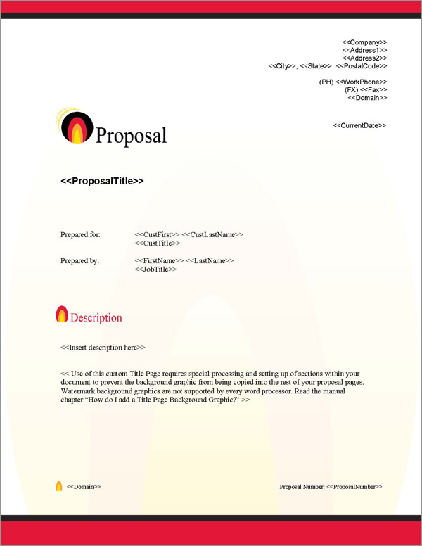 Proposal Pack Energy #4 Title Page