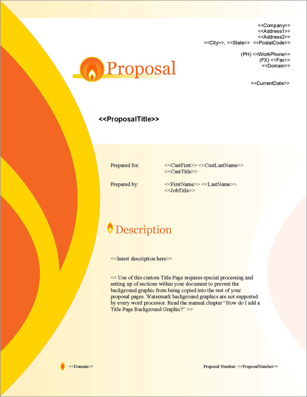 Proposal Pack Energy #7 Title Page
