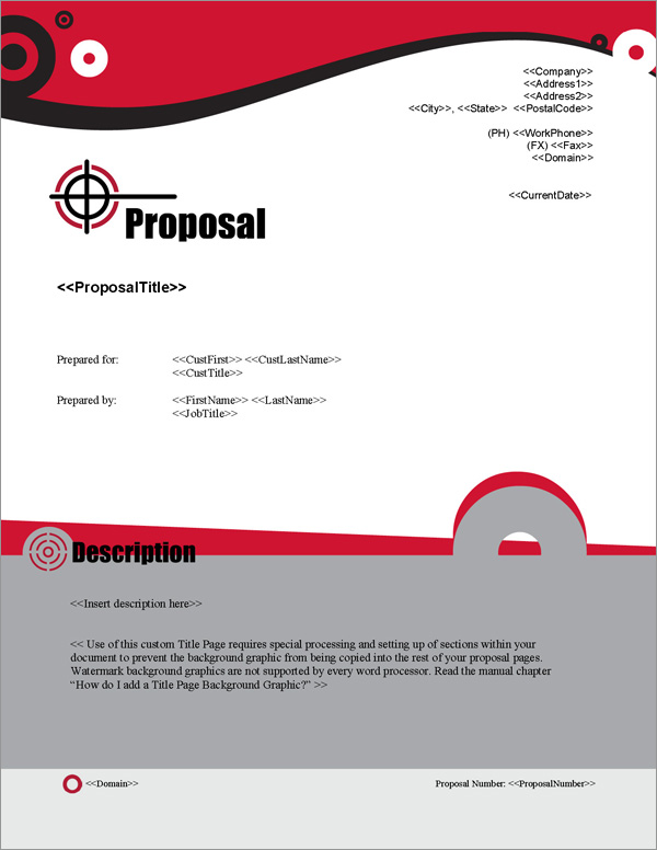 Proposal Pack Security #7 Title Page