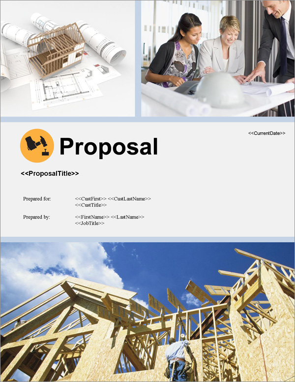 Proposal Pack Construction #5 Title Page