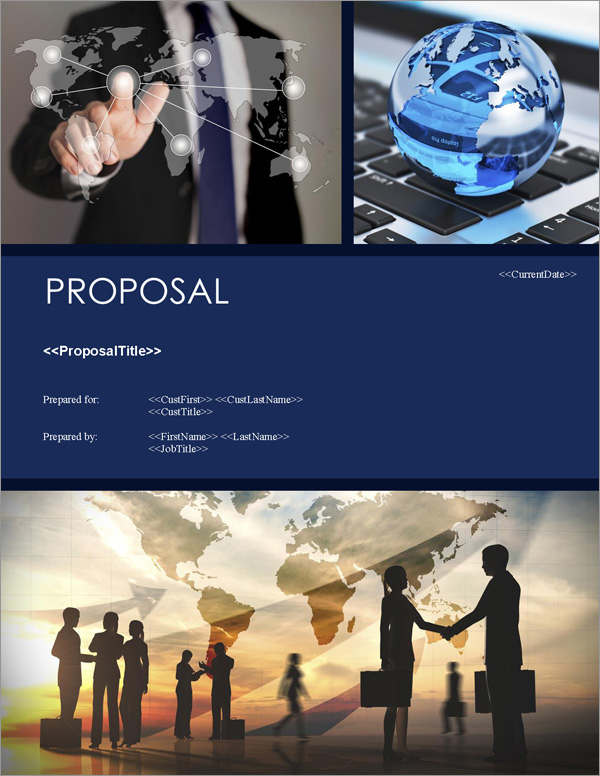 Proposal Pack Global #4 Title Page
