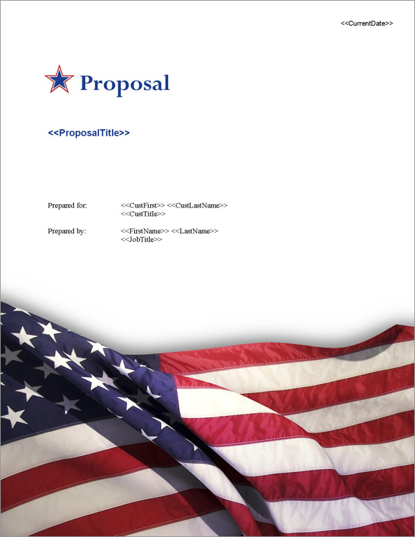 Proposal Pack Flag #6 Title Page