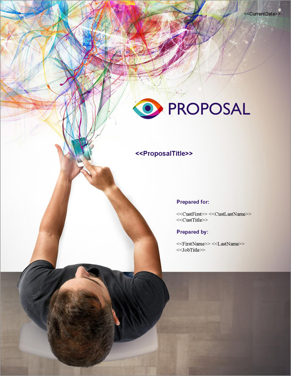 Proposal Pack Marketing #2 Title Page