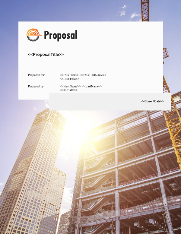 proposal pack construction  6