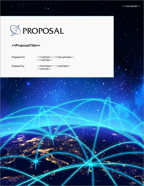 Proposal Pack Telecom #4 Title Page