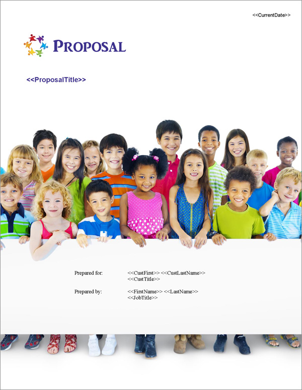 Proposal Pack Children #3 Title Page