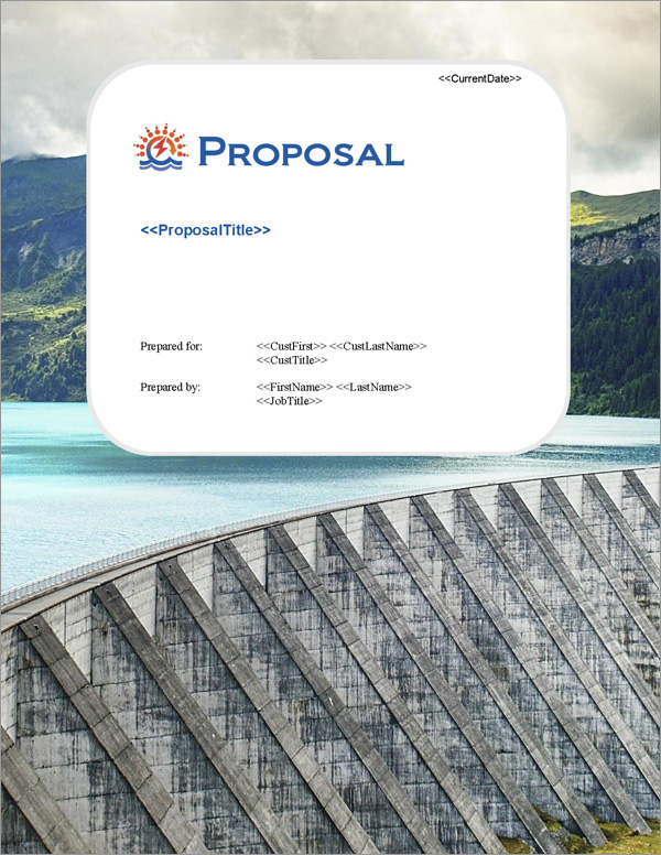 Proposal Pack Infrastructure #2 Title Page