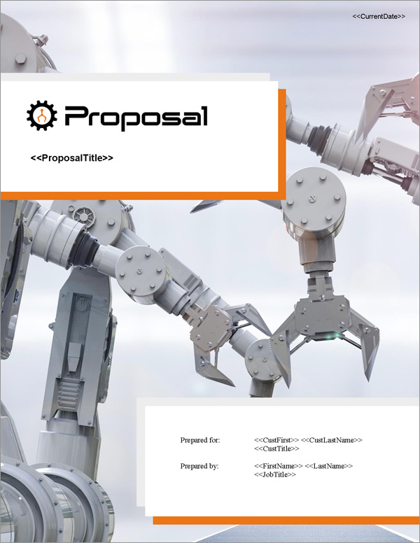 Proposal Pack Robotics #2 Title Page