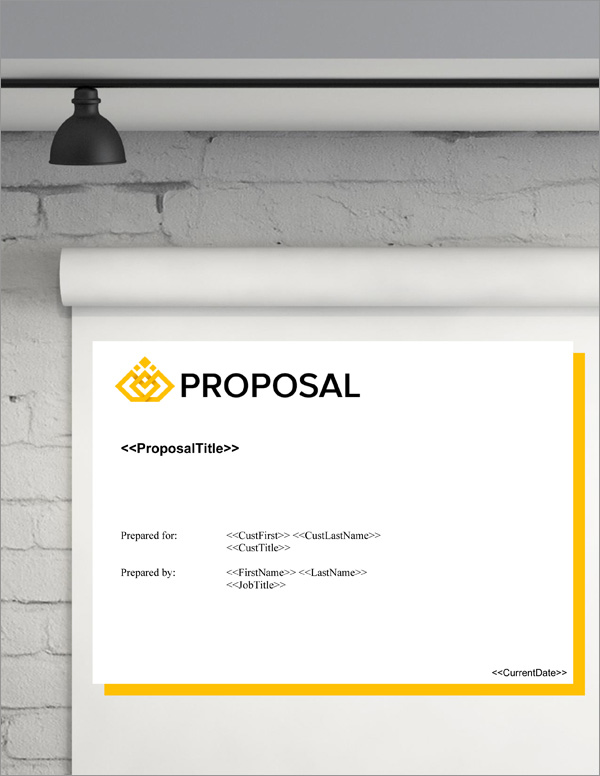 Proposal Pack Business #20 Title Page