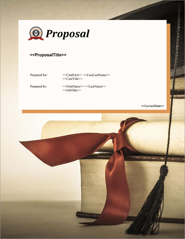 Proposal Pack Education #4 Title Page