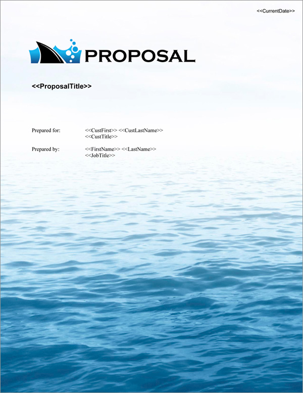 Proposal Pack Business #21 Title Page