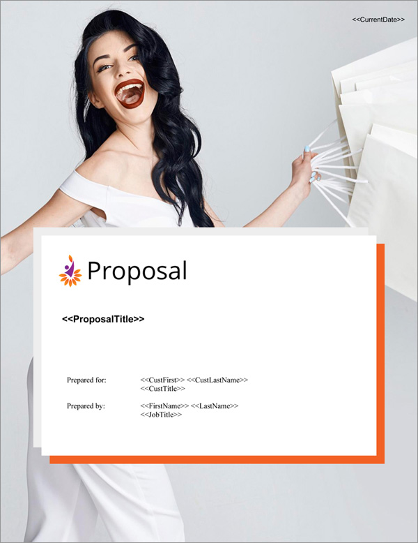 Proposal Pack Contemporary #17 Title Page