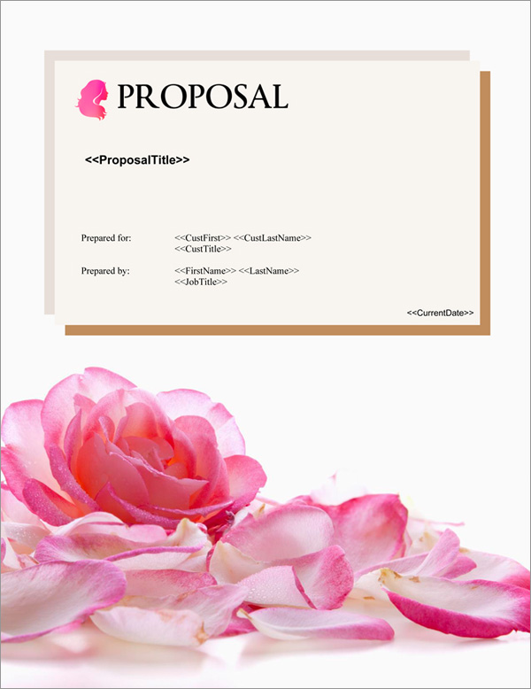 Proposal Pack Elegant #4 Title Page