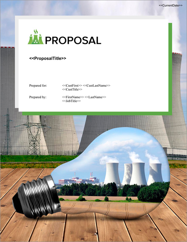 Proposal Pack Energy #11 Title Page