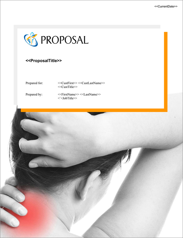 Proposal Pack Healthcare #6 Title Page