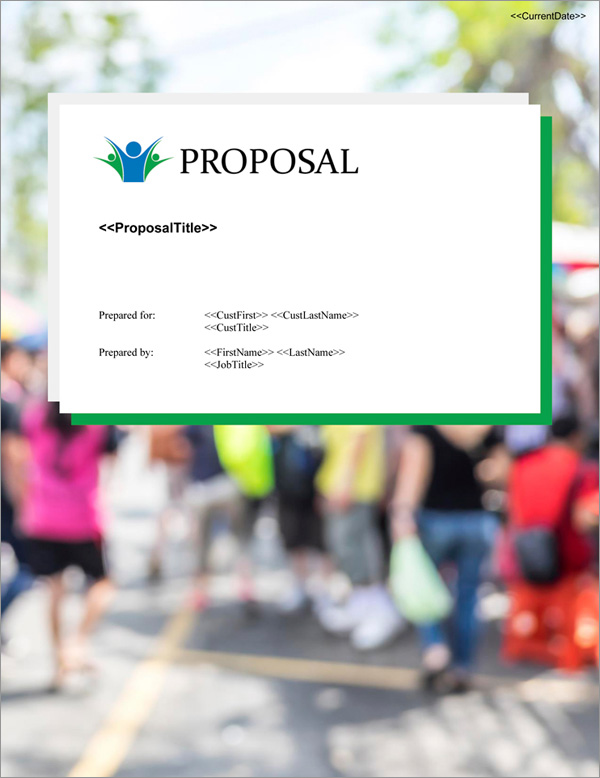 Proposal Pack Community #2 Title Page