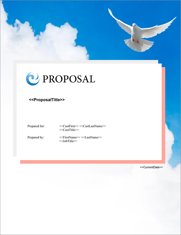 Proposal Pack Elegant #5 Title Page