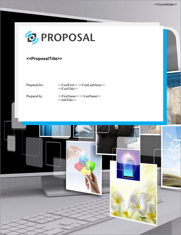 Proposal Pack Multimedia #5 Title Page