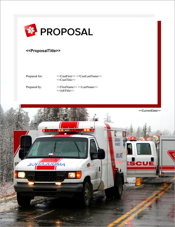 Proposal Pack Medical #8 Title Page