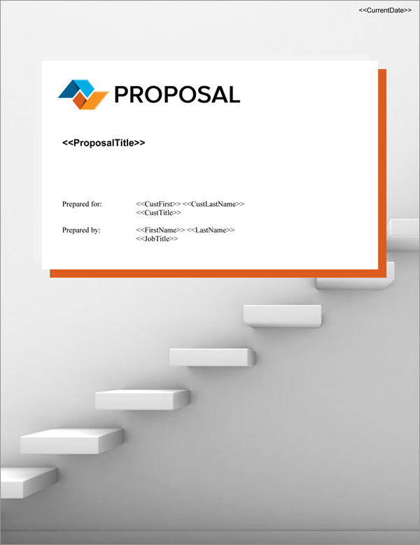 Proposal Pack Business #23 Title Page