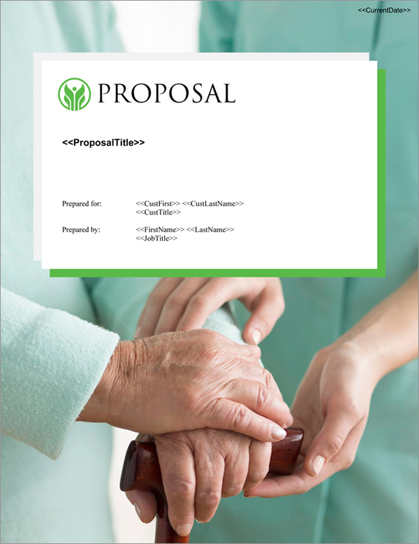 Proposal Pack Healthcare #7 Title Page