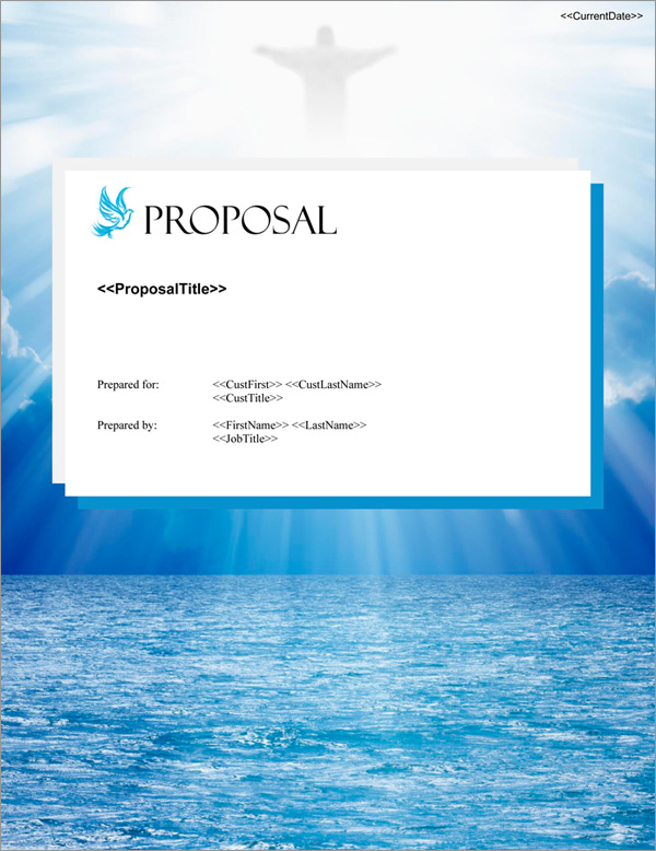 Proposal Pack Spiritual #3 Title Page