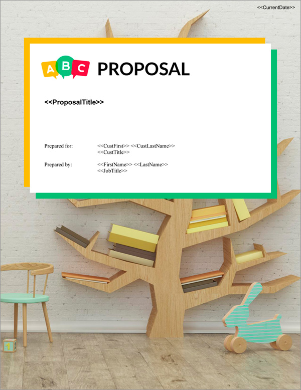 Proposal Pack Children #5 Title Page