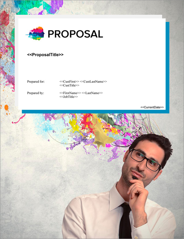 Proposal Pack Contemporary #21 Title Page