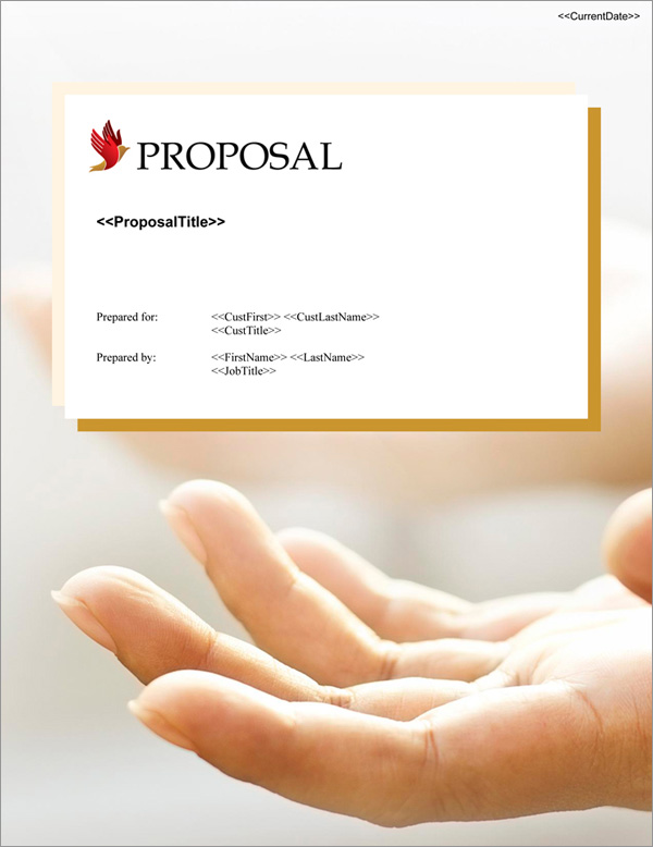 Proposal Pack Spiritual #4 Title Page