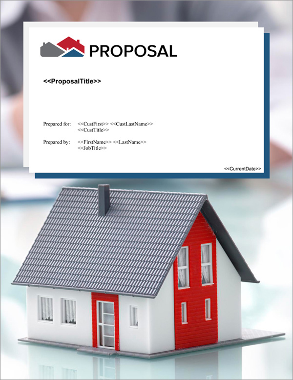Proposal Pack Real Estate #7 Title Page