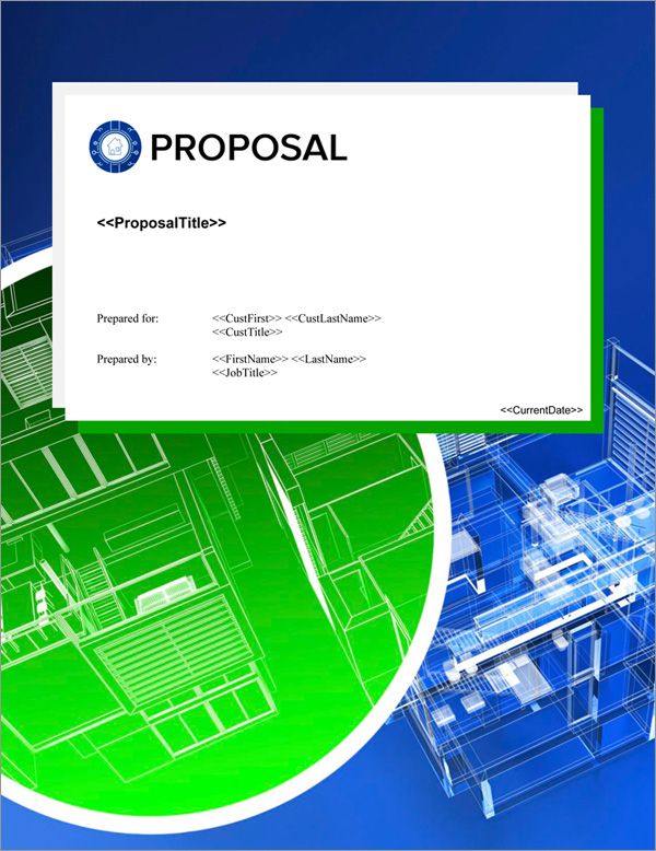 Proposal Pack Wireless #5 Title Page