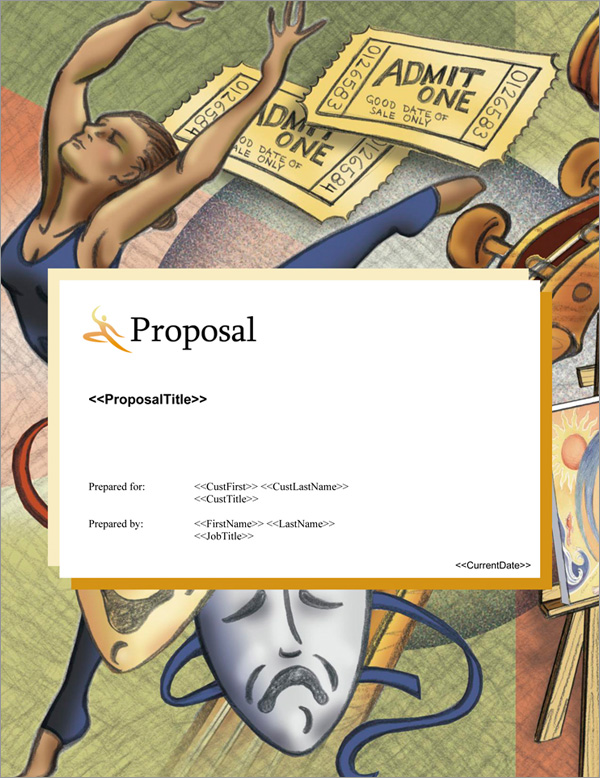 Proposal Pack Entertainment #9 Title Page