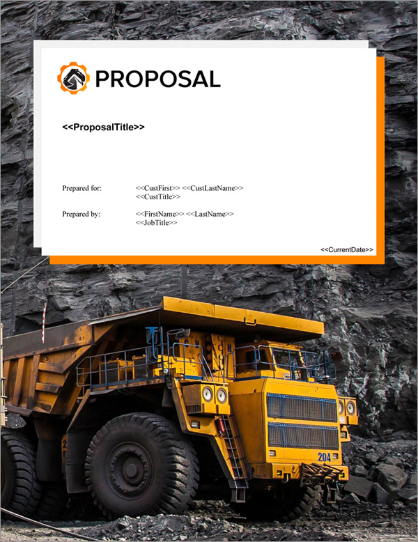 Proposal Pack Mining #4 Title Page