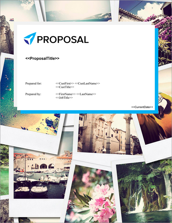 Proposal Pack Travel #5 Title Page