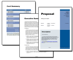 Business Proposal Software And Templates For Any Business  Proposal Layouts