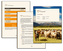 Business Proposal Software and Templates Ranching #1