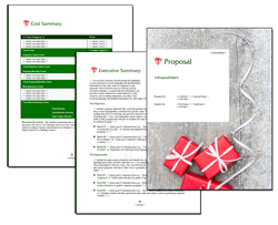 Business Proposal Software and Templates Seasonal #3