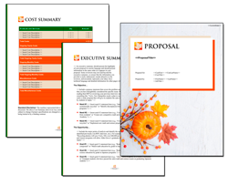 Business Proposal Software and Templates Seasonal #4