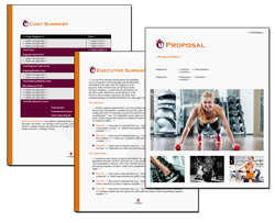 Business Proposal Software and Templates Sports #6